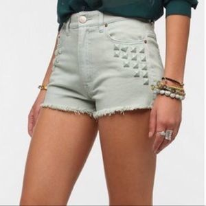 🌟3 FOR $35🌟 BDG high rise CHEEKY Mint SHORTS